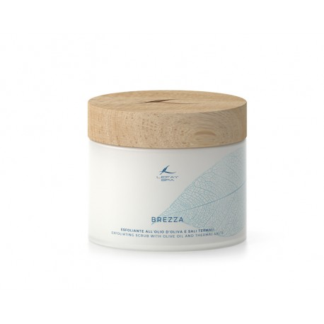 BREZZA - EXFOLIATING SCRUB WITH OLIVE OIL AND THERMAL SALTS