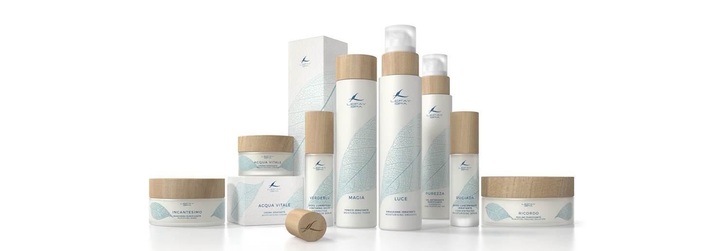 Lefay SPA Cosmetic Line Face-Body